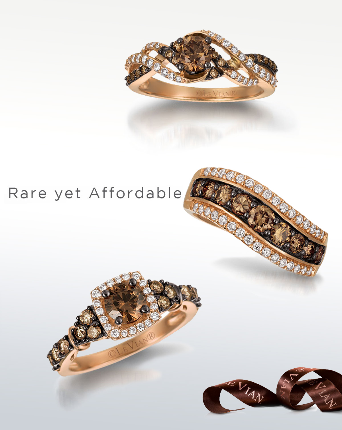 attachment unique with americus of rings brown oval engagement diamond light ring